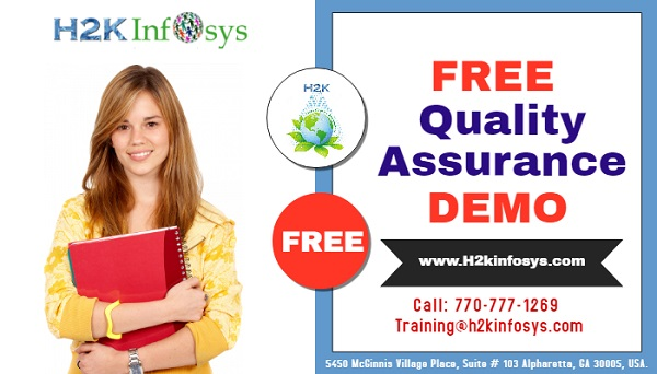 Join Free Live QA Demo Class by Ms. Priya